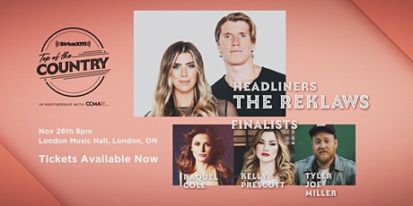 SiriusXM Top of the Country Finale Concert featuring The Reklaws tickets