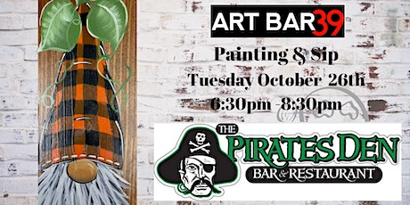 Public Paint & Sip Wood Fall Gnome tickets