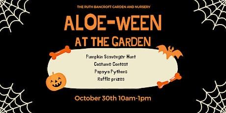ALOE-ween  at The Garden tickets