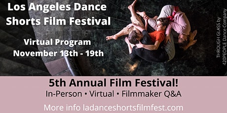 LA Dance Shorts Film Fest - Online! tickets