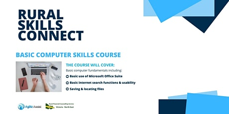 Rural Skills Connect - Basic Computer Skills Course tickets