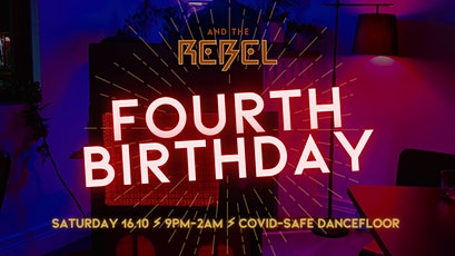 Rebel's 4th Birthday Party! tickets
