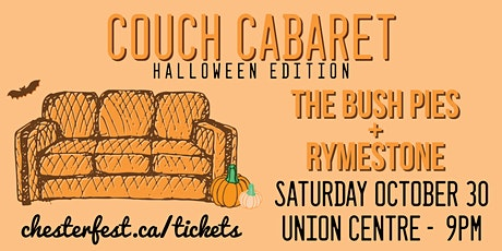 Couch Cabaret with the Bush Pies and Rymestone tickets