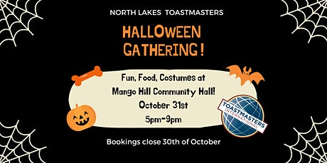 North Lakes Toastmasters Halloween Gathering tickets