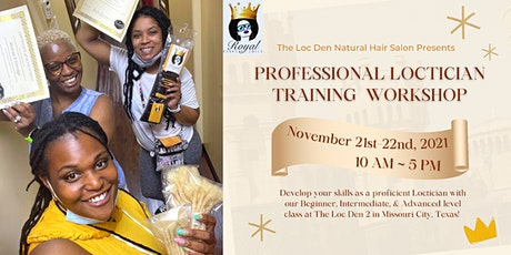 Prof. Loctician Training Workshop (All Levels / SW Houston, TX) tickets