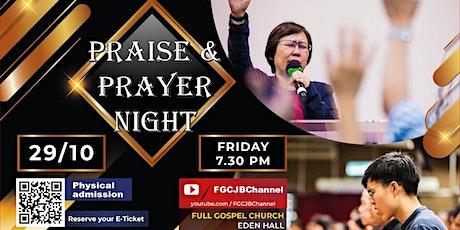 Praise and Prayer Night tickets