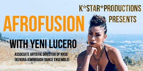 Afrofusion Dance Class with Yeni Lucero tickets