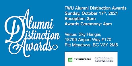 TWU Alumni Distinction Awards 2021 tickets