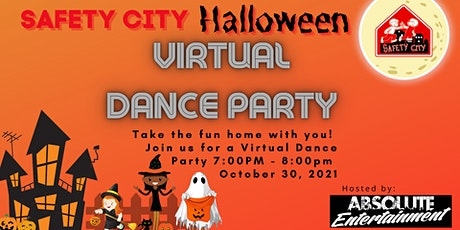 Safety City Halloween Virtual Dance Party 2021 tickets