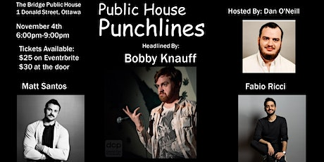 Public House Punchlines #1 tickets