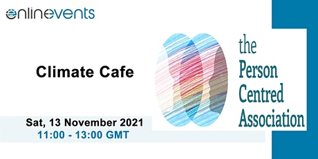 Climate Cafe - The Person-Centred Association tickets