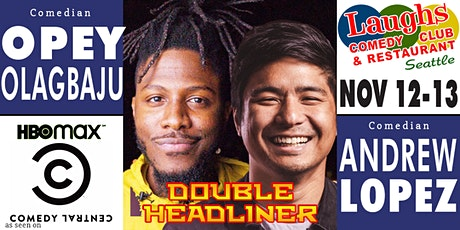 Comedians Opey Olagbaju and Andrew Lopez tickets
