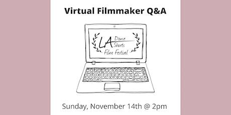 Filmmaker Talk tickets