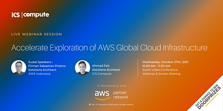 Accelerate Exploration of AWS Global Cloud Infrastructure tickets