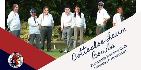 Cottesloe Football Club Lawn Bowls tickets