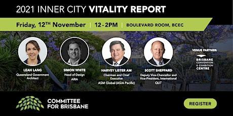 2021 Inner City Vitality Report tickets