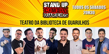 STAND UP COMEDY GUARULHOS ingressos