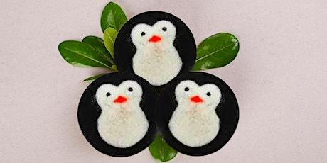 Penguin Wool Dryer Ball Workshop tickets
