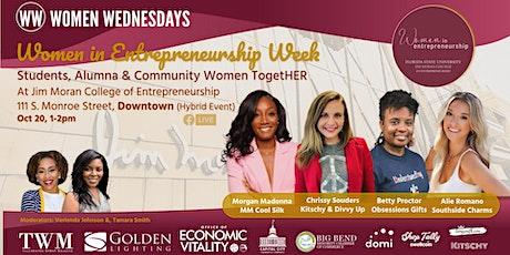 Women in Entrepreneurship Week: Students, Alumna & Community Women TogetHER tickets
