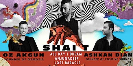 Positive Sounds presents, SHAI T, ASHKAN DIAN, OZ AKGUN @Space00-October 23 tickets