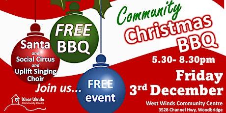 Christmas Community BBQ tickets