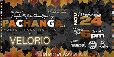 Annual Night Before Thanksgiving Pachanga 2021 tickets