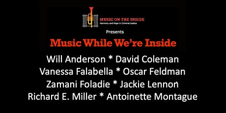 Music While We're Inside Free Zoom Concert Sunday, October 17th at 6PM ET tickets