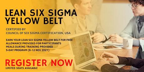 Lean Six Sigma - Yellow Belt tickets