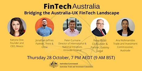 Bridging the Australia-UK FinTech Landscape tickets