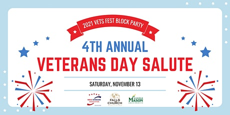 4th Annual Veterans Day Salute tickets
