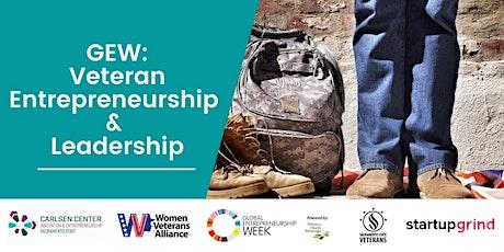 GEW: Veteran Entrepreneurship and Leadership tickets