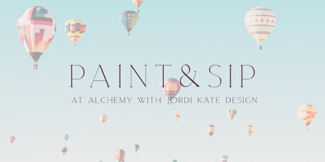 Paint & Sip Class at Alchemy Southside tickets