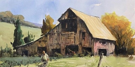 Old Barn with an Autumnal Makeover: Watercolours with Mike Willdridge tickets