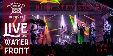 LIVE ON THE WATERFRONT - High Step Society tickets