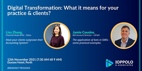 Digital Transformation: What it means for your practice & clients? tickets