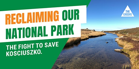 Reclaiming our National Park: the fight for Kosci! tickets