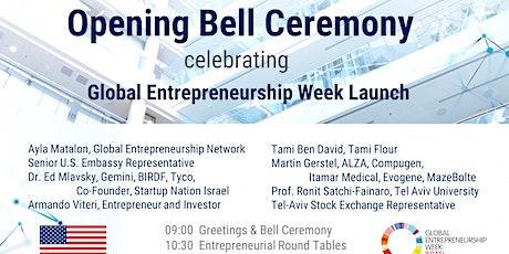 פתיחת שבוע היזמות הגלובלי בישראל - 2021 billets
