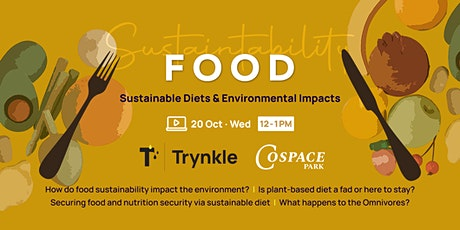 Food - Sustainable Diets & Environmental Impacts tickets