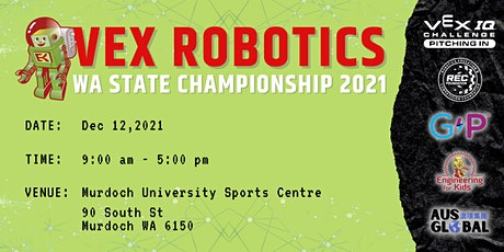 VEX Robotics WA State Championship 2021 tickets