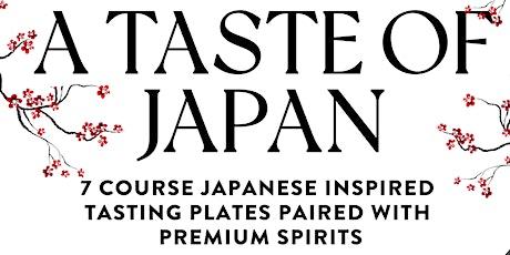 A Taste of Japan tickets