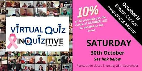 Saturday Virtual Quiz 30th October 2021 tickets