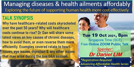 Managing Diseases & Health Ailments Affordably tickets