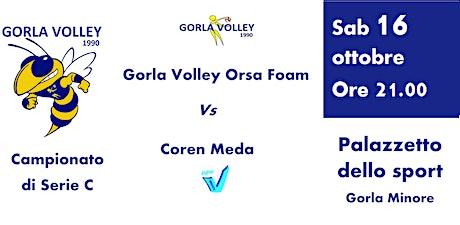 Serie C Femminile - Gorla Volley Orsa Foam  VS   C biglietti