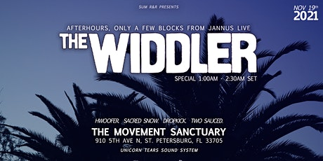 The Widdler Afterhours in Downtown St Pete tickets