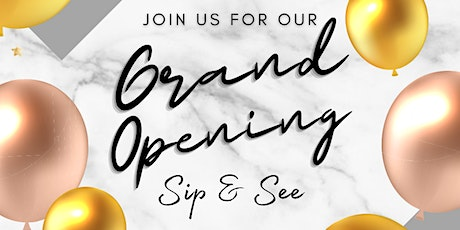 """Face & Company Facial Bar's Grand Opening """"Sip & See"""" tickets"""