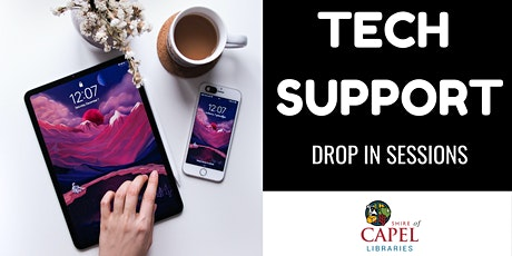 Tech Support Drop In Session - Dalyellup tickets