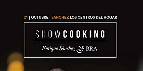 Showcooking con Enrique Sánchez entradas