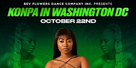 WASHINGTON DC KONPA CLASS FRI OCT 22ND tickets