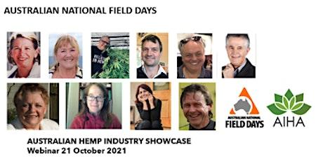 ANFD & Australian Industrial Hemp Alliance Industry Showcase tickets