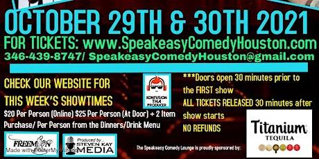 Speakeasy Comedy Lounge 10/29 & 10/30 tickets